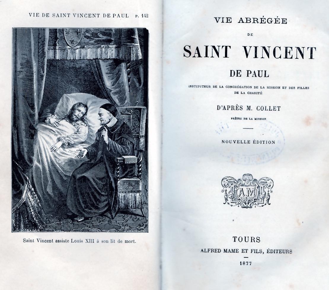 Vie abrégée de Saint-Vincent de Paul
